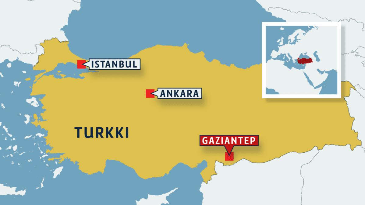 Suomalaistutkija Etelaisessa Turkissa Tilanne Kaduilla