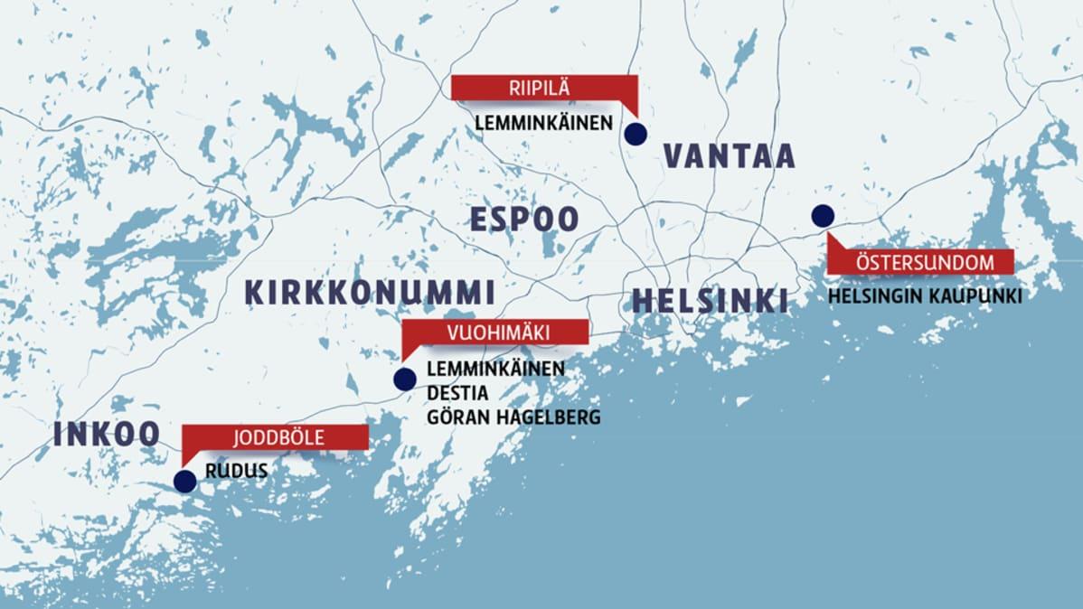 Suomen luonnonsuojelulliton mukaan muun muassa nämä louhokset ovat ristiriidassa luontoarvojen kanssa.