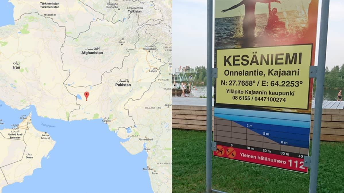 Kaupunki Mokasi Kajaanin Uimaranta Sijaitseekin Pakistanissa