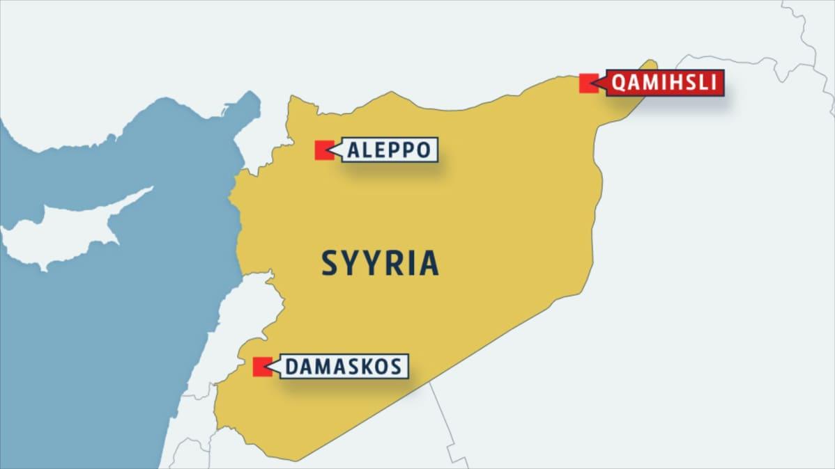 Isisin Autopommi Tappoi Kymmenia Syyrian Kurdikaupungissa Yle