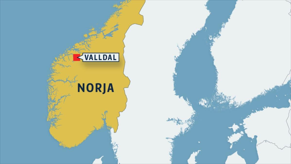 Turistibussi Suistui Tielta Norjassa Ainakin Yksi Kuollut Yle