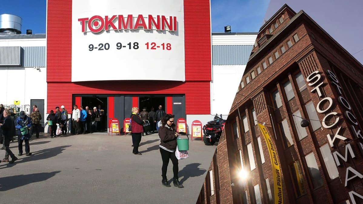 Reittiohjeet määränpäähän Tokmanni Helsinki joukkoliikenteellä