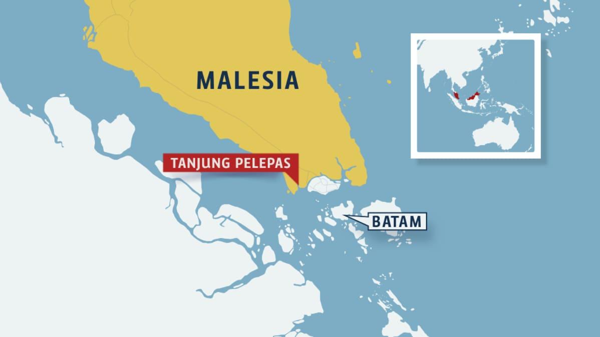 Oljytankkeri Kaapattu Malesiassa Kyydissa 900 000 Litraa