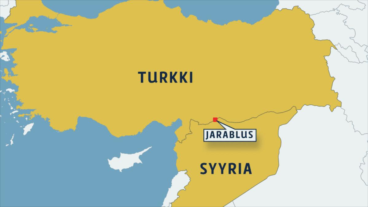 Turkki Hyokkaa Syyrian Puolelle Isis Yritetaan Haataa Jarablusin