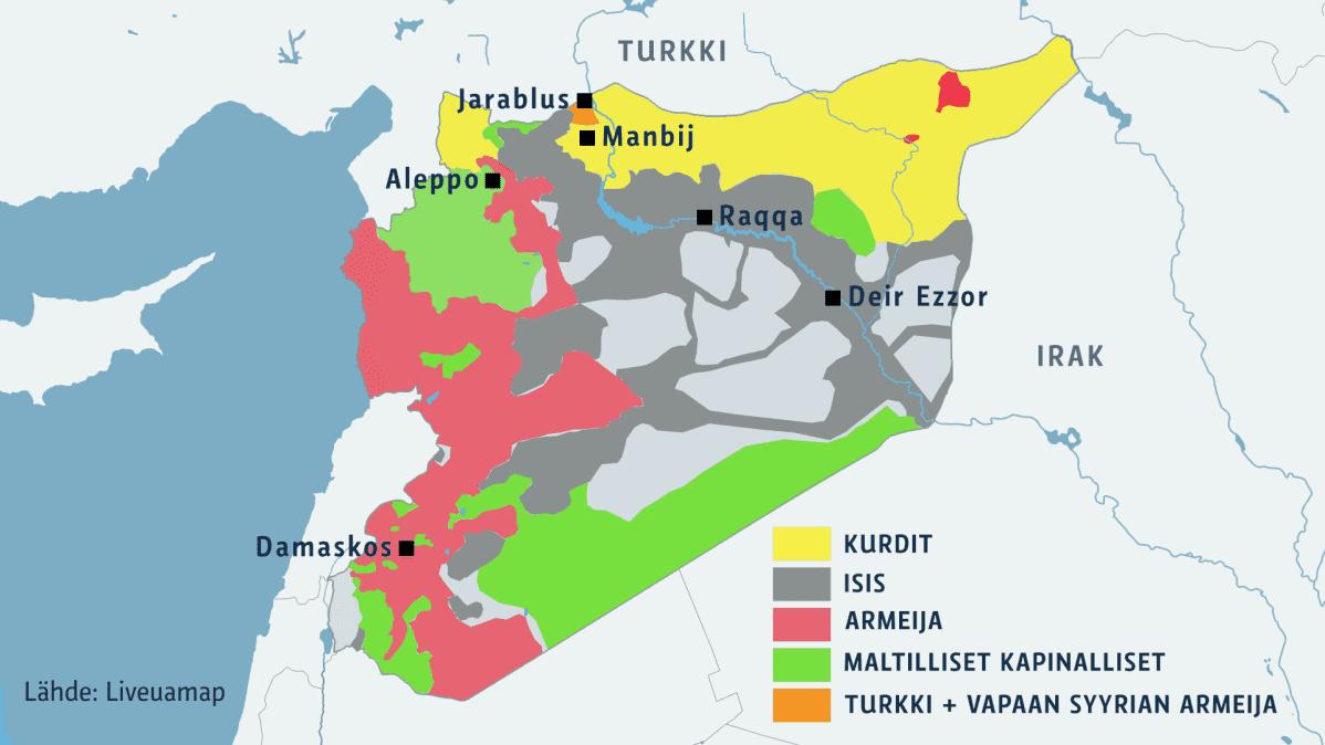 Tausta Miksi Turkin Joukot Tunkeutuivat Syyriaan Ja Mita