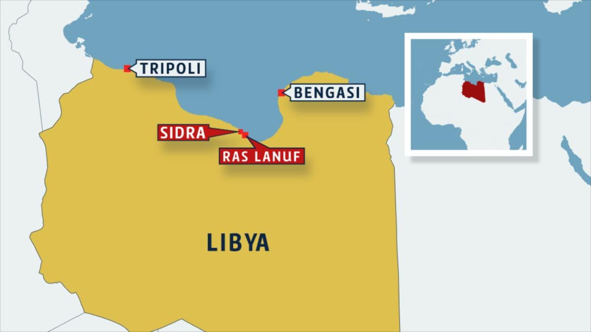 Taistelu Libyan Oljysta Kiihtyy Kapinakenraali Valtasi Kaksi