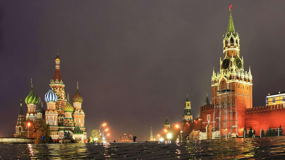Yökuva Moskovasta.