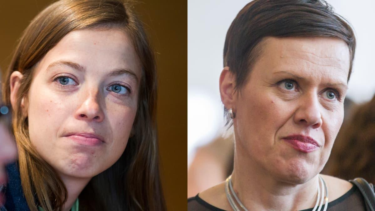 Li Andersson ja Maarit Feldt-Ranta
