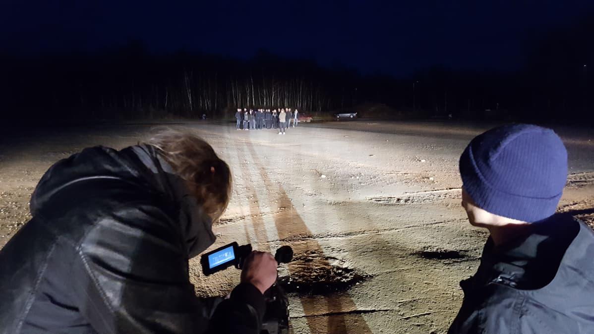 Musiikkivideon kuvaaminen