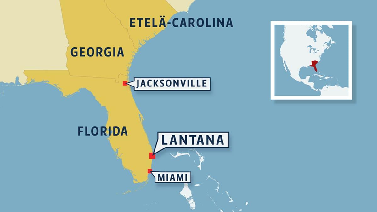 Floridansuomalaiset Hurrikaanin Reitilla Tuuli Vinkuu Mutta Ei