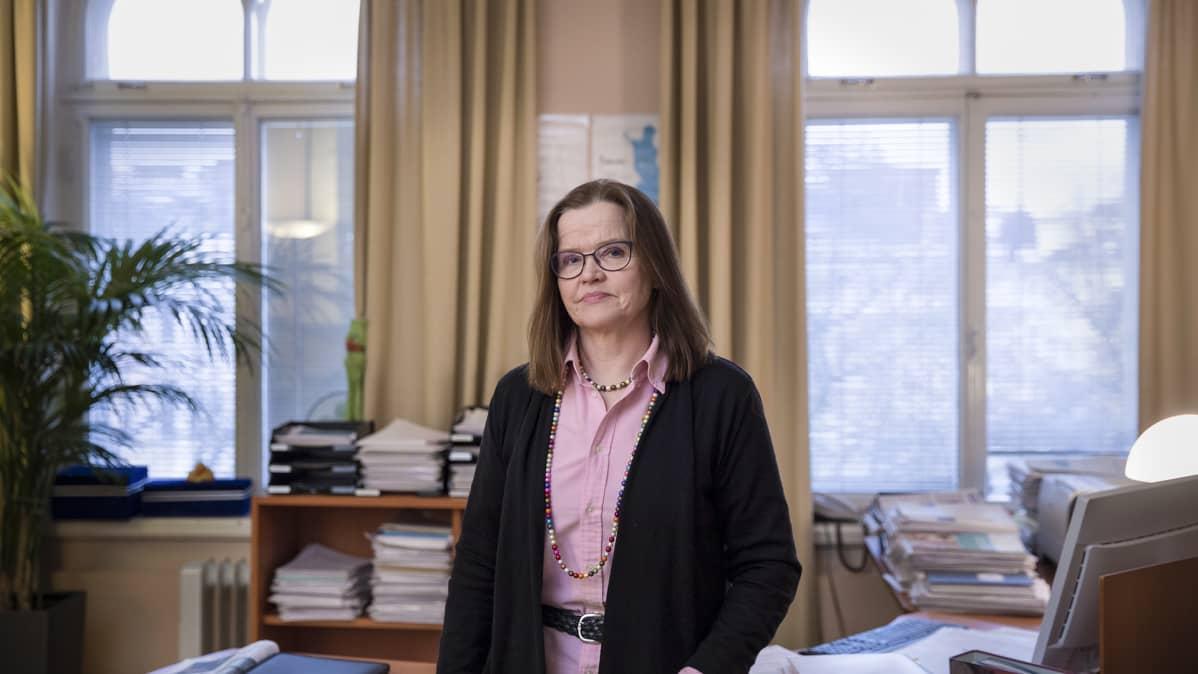 Suomen sisäasiainministeriön kansliapäällikkö Päivi Nerg