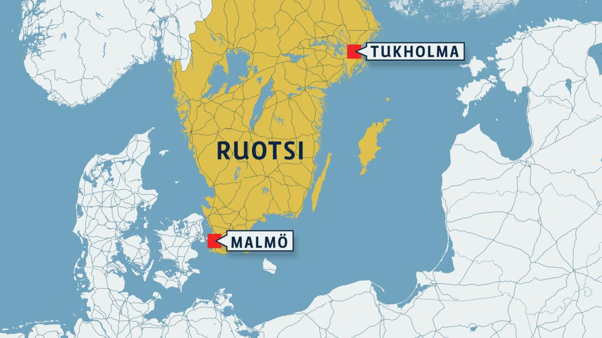 Kaksi Katuammuskelua Malmossa Yksi Sai Surmansa Yle Uutiset