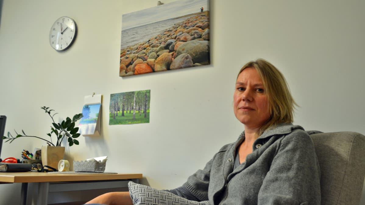 Kainuun soten nuorisopsykologi Anne Turunen
