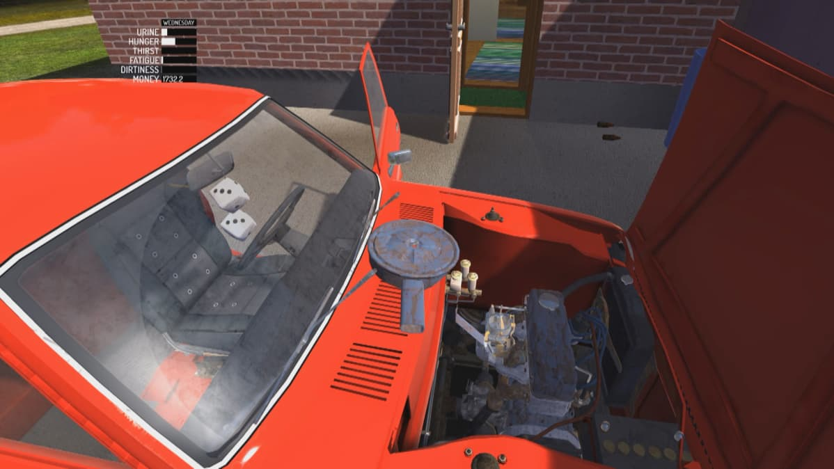 Datsun 100A moottoritila