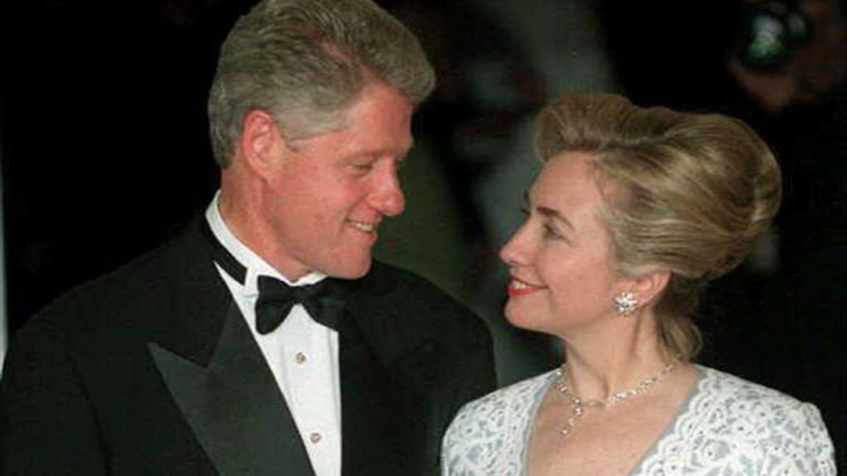 Bill ja Hillary Clinton vuonna 1996.
