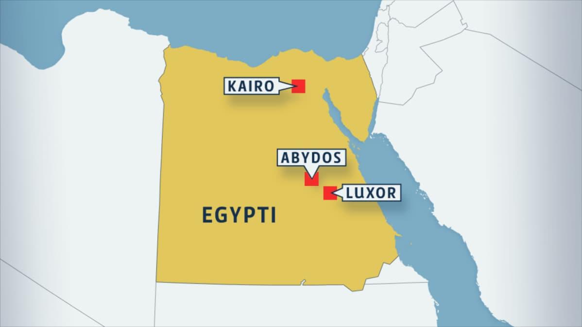 Egyptista Loytyi Useita Tuhansia Vuosia Vanha Kaupunki Yle