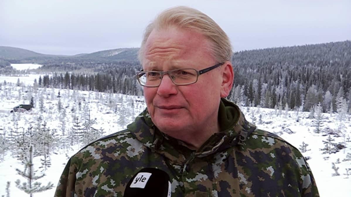 Ruotsin puolustusministeri Peter Hultqvist