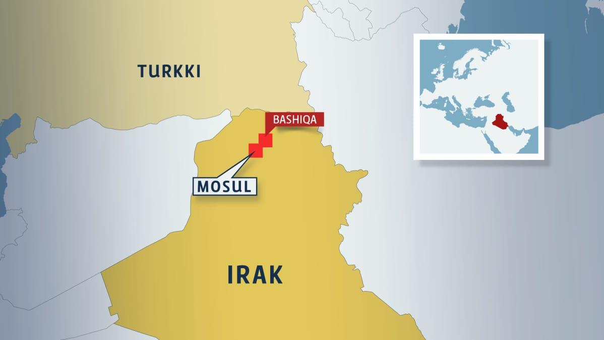 Irakin kartta