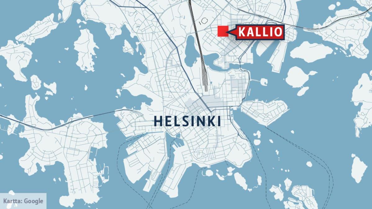 Poliisi Kaksi Yha Kiinniotettuna Helsingin Kallion Puukotuksista