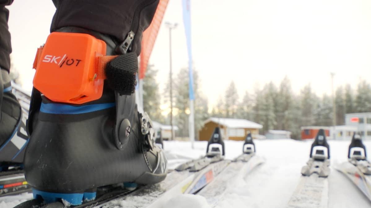 Oululainen hiihtolaite hyödyntää tuoreinta teknologiaa perinteisen urheilulajin analysoinnissa