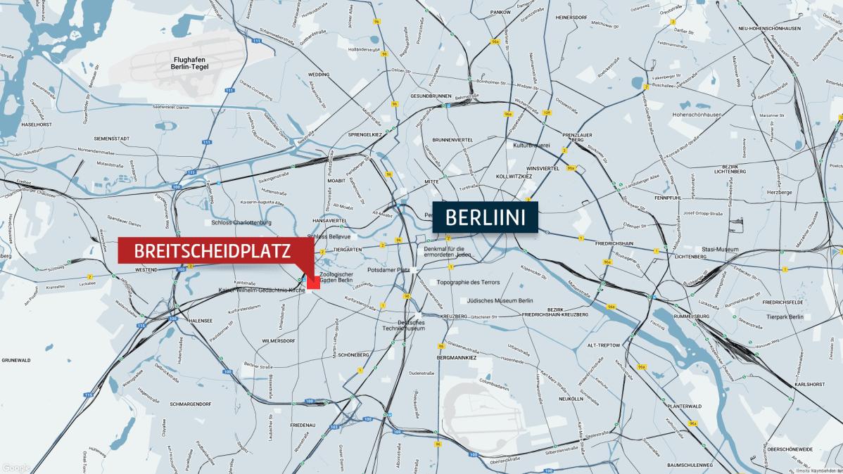 Kuorma Auto Ajoi Vakijoukkoon Berliinin Joulumarkkinoilla