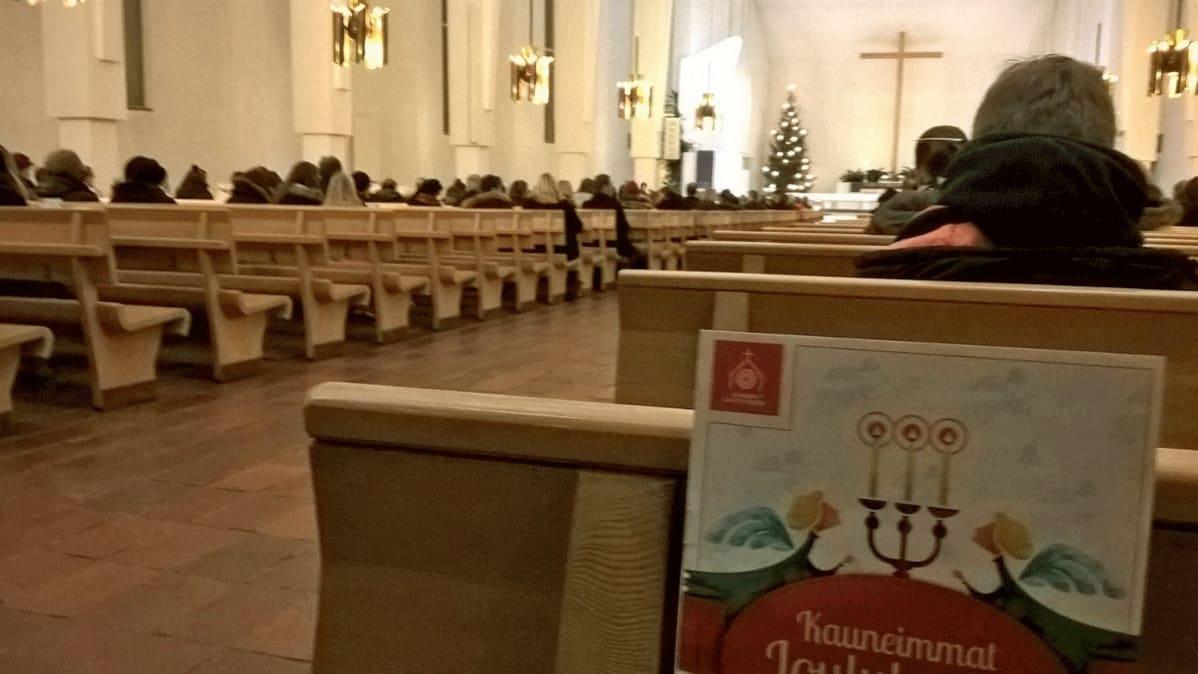 Kauneimmat joululaulut 23.12.2016 Seinäjoen Lakeuden ristissä