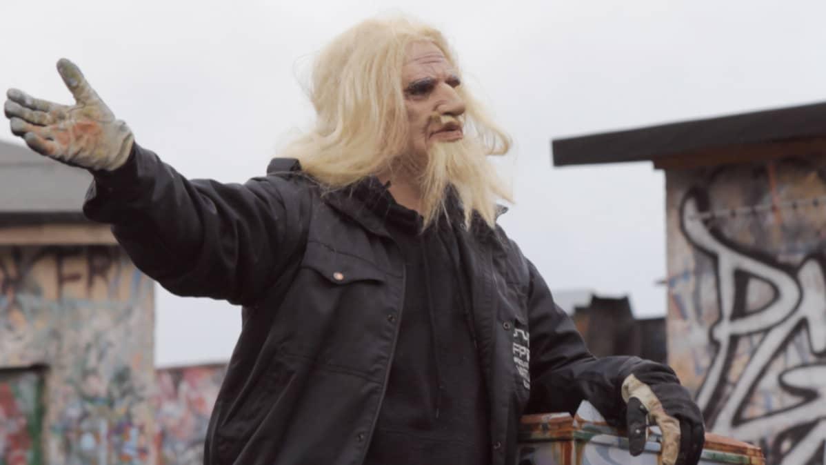 Elokuva Uudet Diktaattorit stadilaisen Graffitin arkeologia 1986-2010.