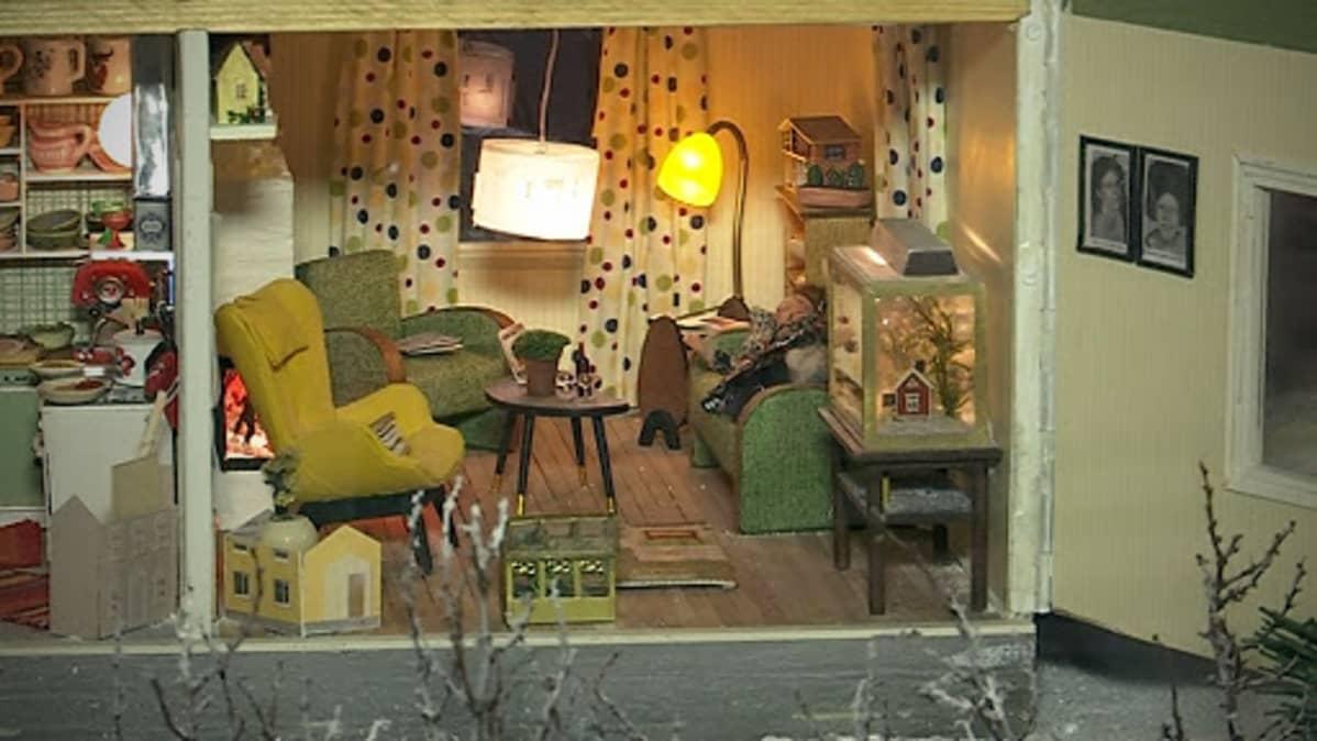 Suomalainen nukkekoti -näyttely Etelä-Pohjanmaan maakuntamuseossa