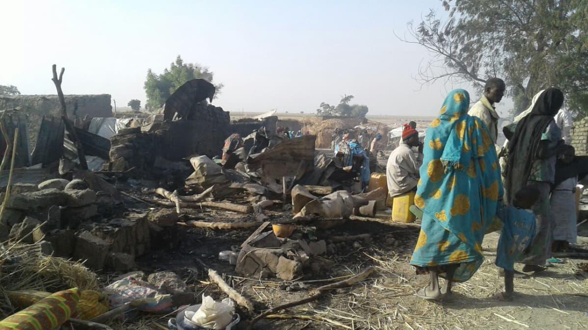 Nigeria ilmaisku Borno Rann
