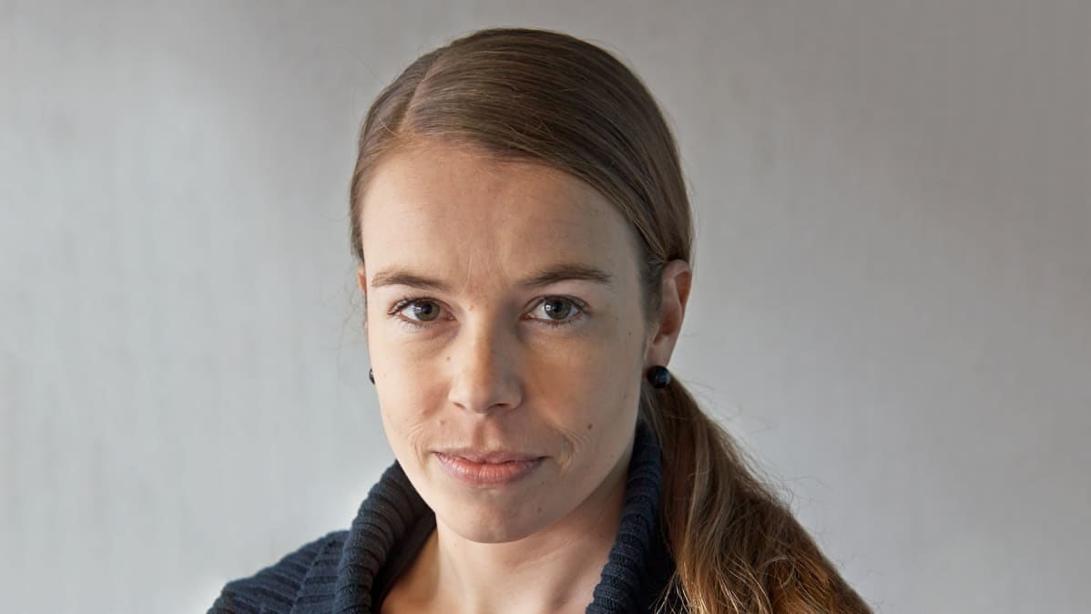 Toimittaja Jenni Frilander.