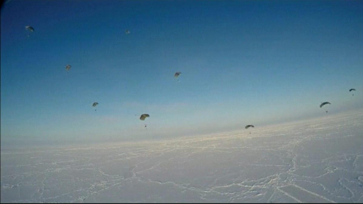 venäjä laskuvarjojoukot arktinen