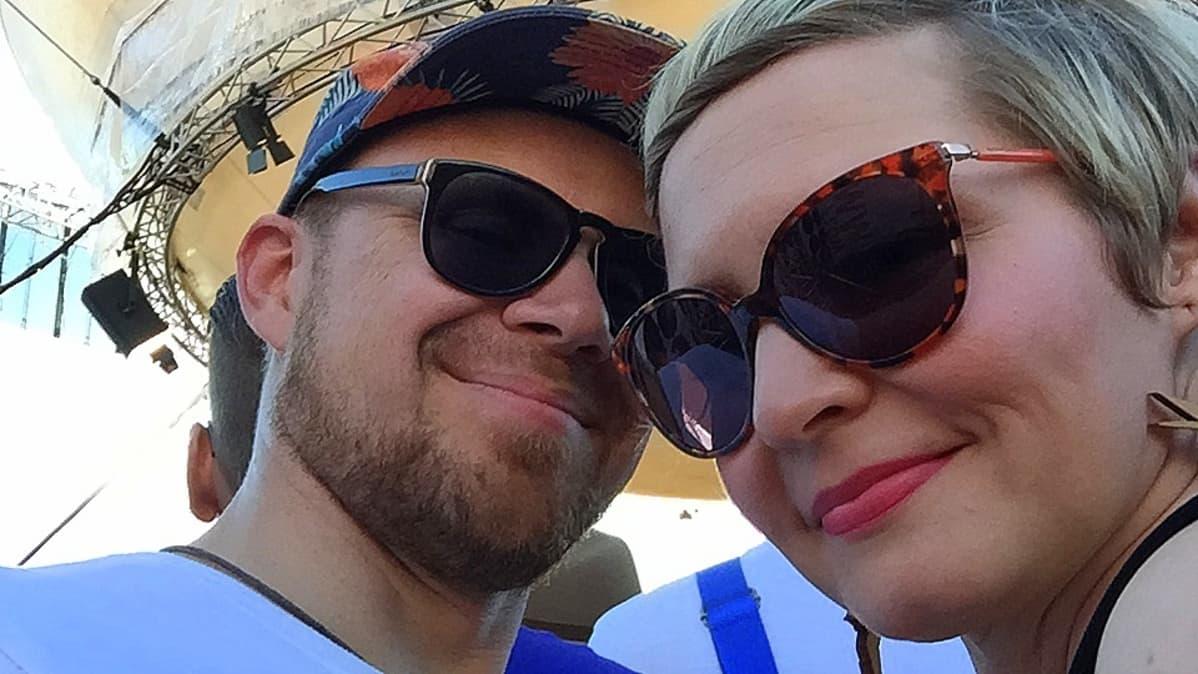 Sami ja Suvi Helander.