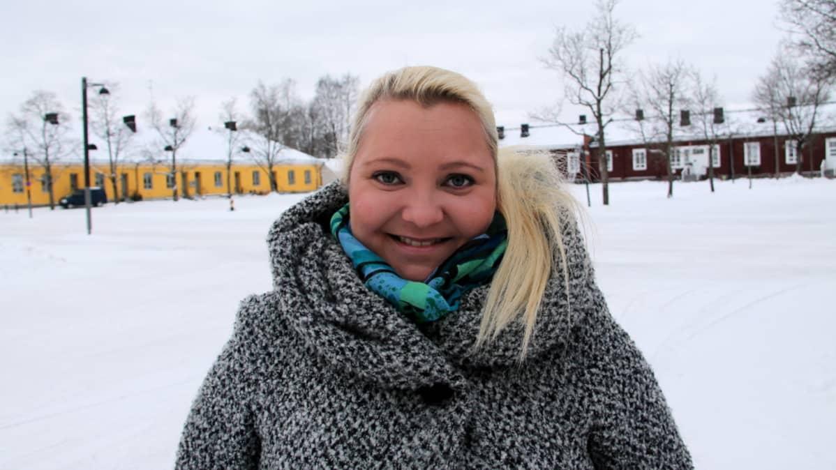 kansanedustaja Suna Kymäläinen