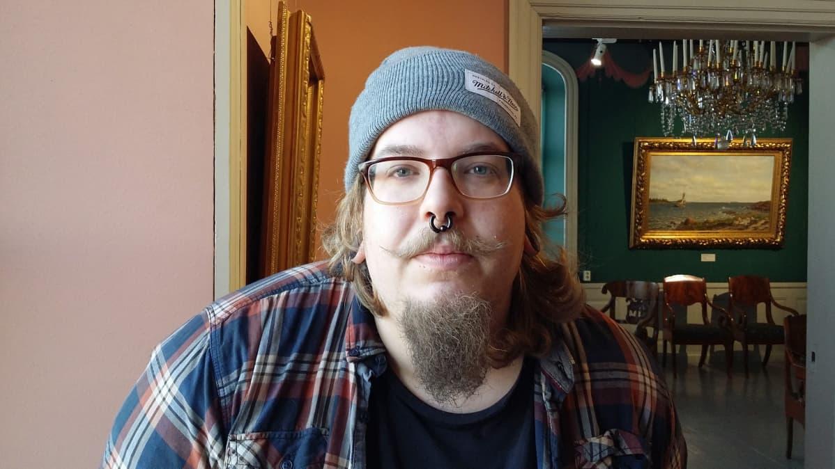 Kuvassa Antti Pahkamäki