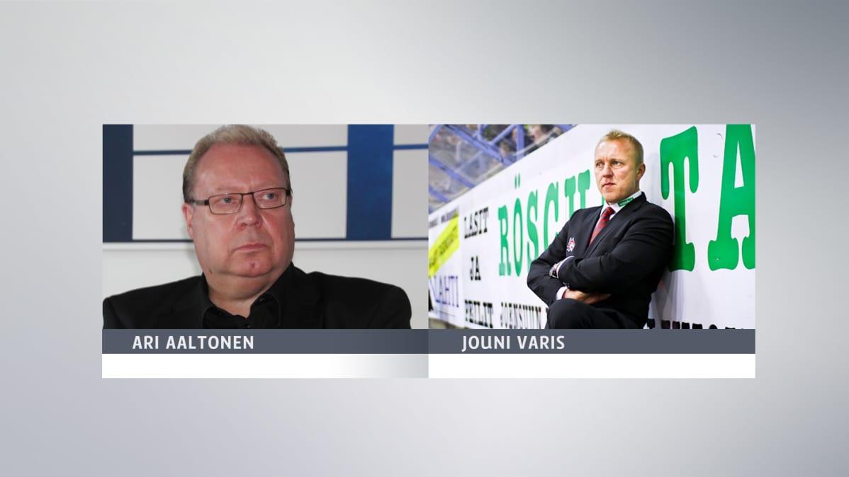 Ari Aaltonen ja Jouni Varis.