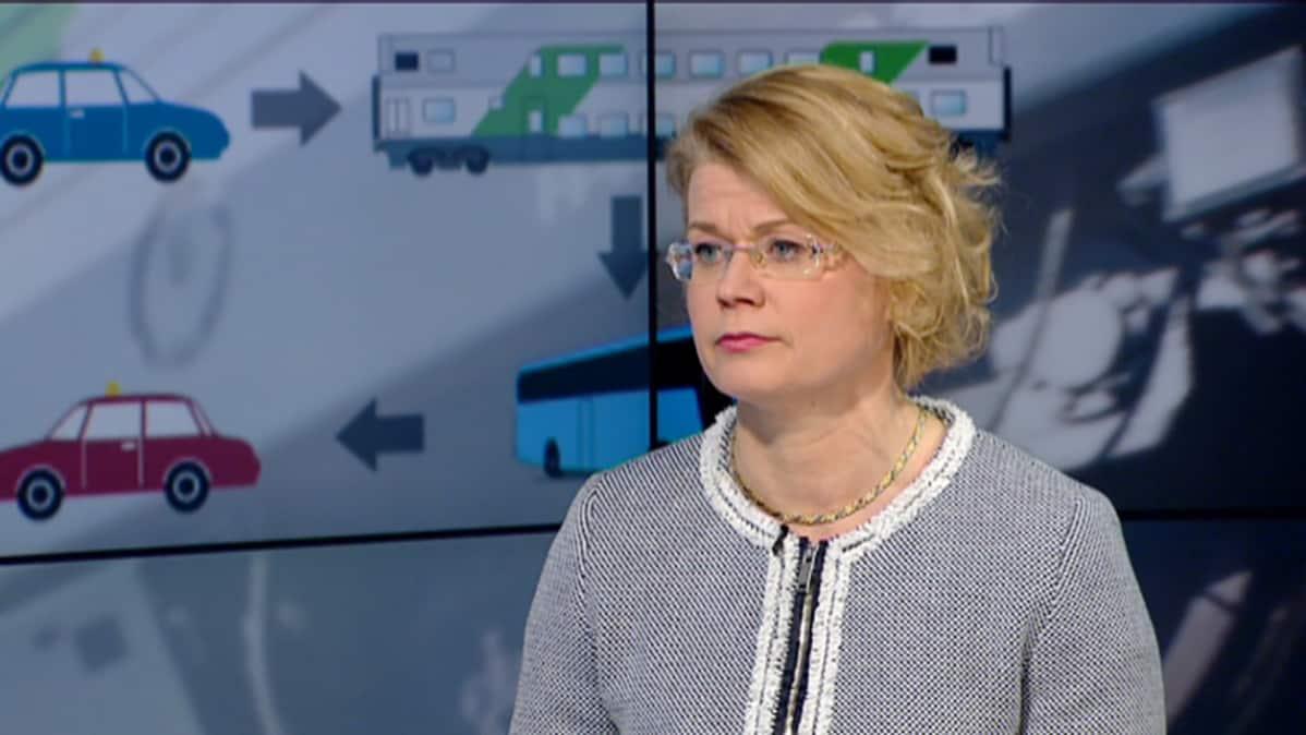 Virpi Anttila ylijohtaja liikennevirasto