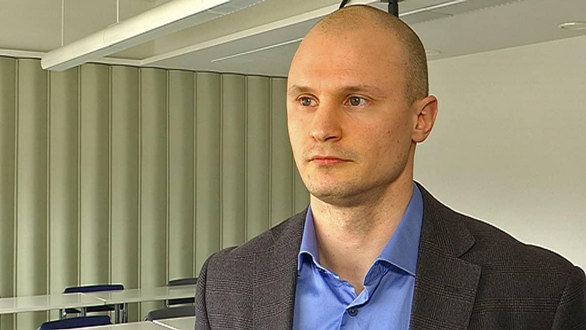 rikoskomisario Saku Tielinen Kaakkois-Suomen poliisista