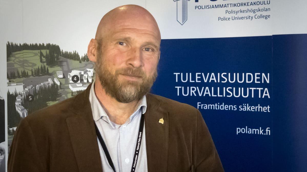 Poliisitarkastaja Måns Enqvist