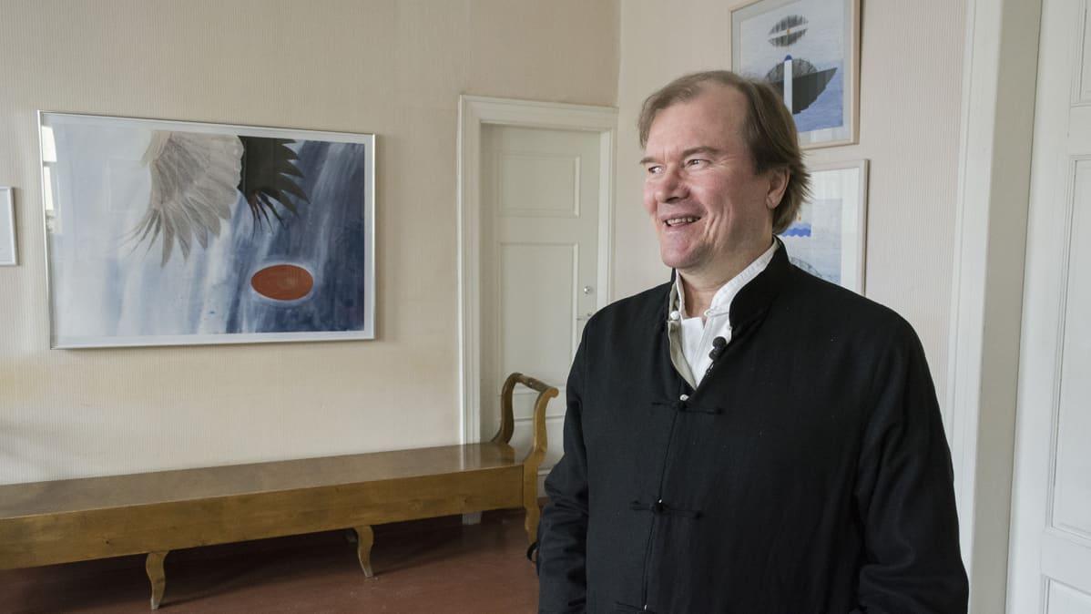 Pekka Huttu-Hiltunen Kajaanissa.