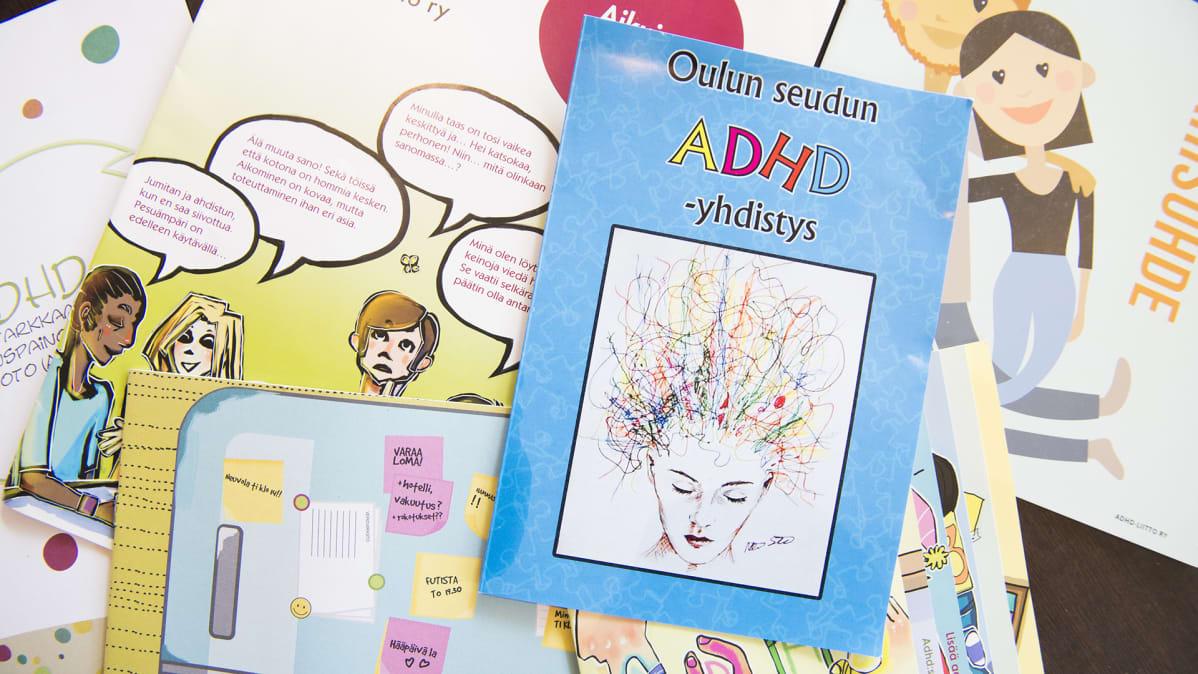 Oulun seudun ADHD-yhdistyksen lehti.