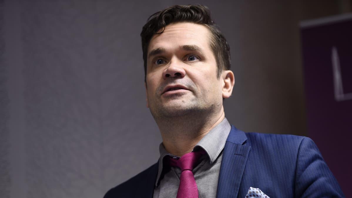 Ulkopoliittisen instituutin johtaja Mika Aaltola
