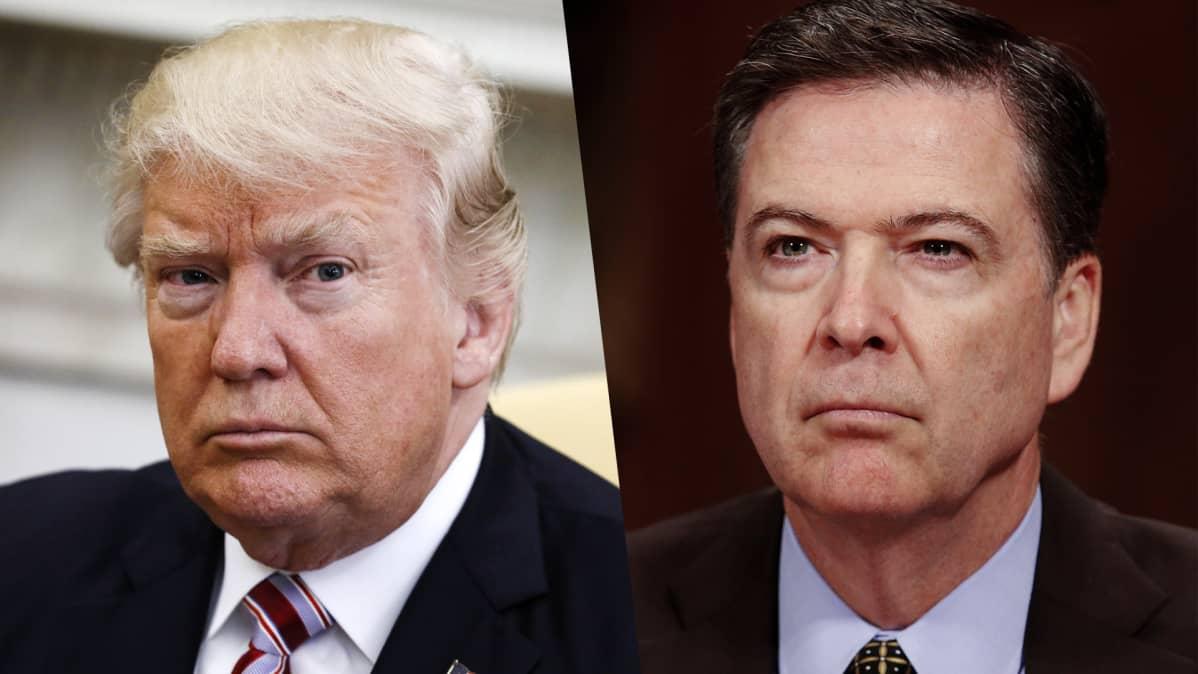 Donald Trump ja James Comey