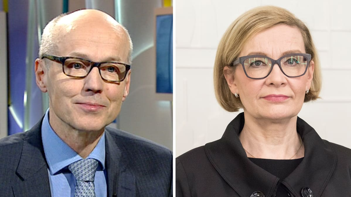 Yrjö Suhonen ja Paula Risikko