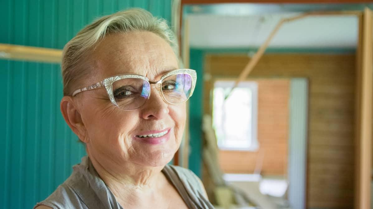 Kirjailija Raija Oranen.