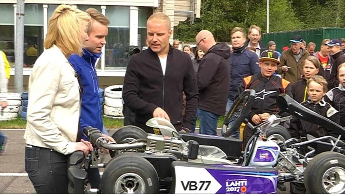 Valtteri Bottaksen karting-auto