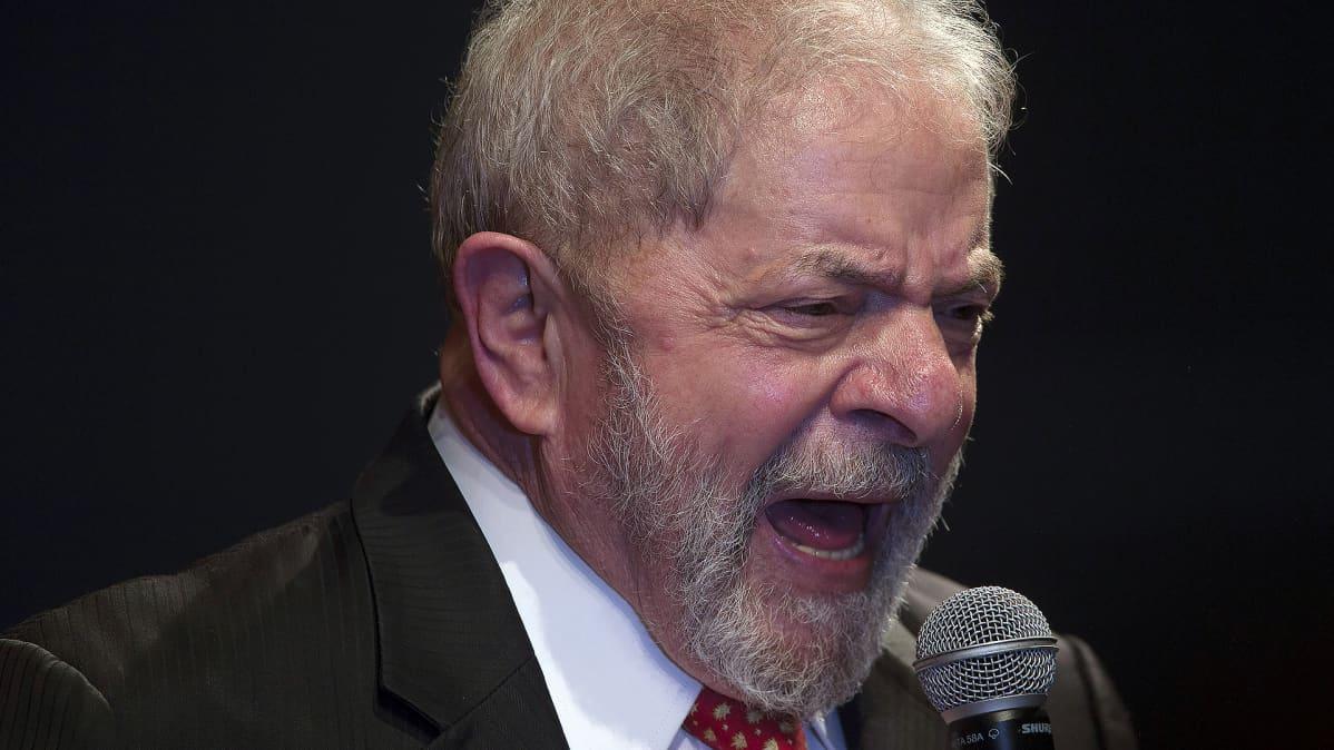 Brasilian entinen presidentti Luiz Inacio Lula da Silva.