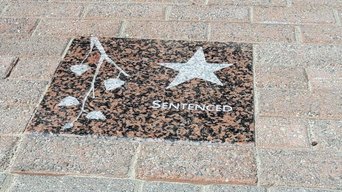 Ex-heavy-yhtye Sentenced sai tähden Muhokselle Walk of Fame-aukiolle.