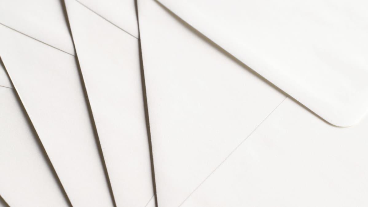 Kirjekuoria.