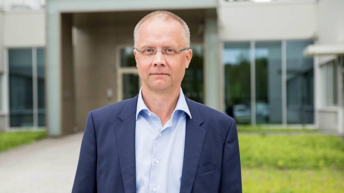 SRV:n Suomen liiketoiminnan johtaja Juha Toimela