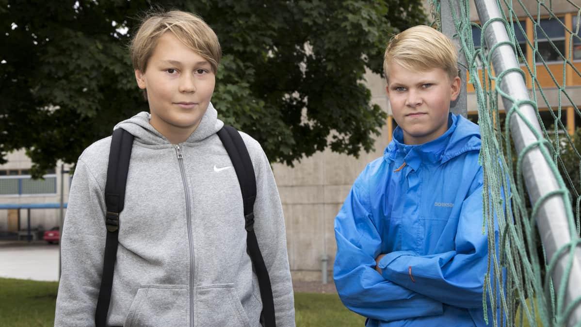 Aki Oksman ja Olli Matikka
